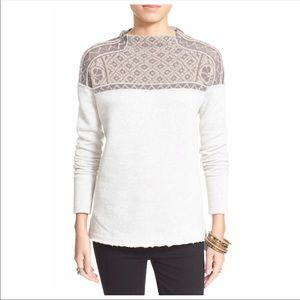 FREE PEOPLE Snow Bunny Pullover